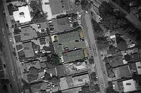 Foto aérea de la propiedad de Napa