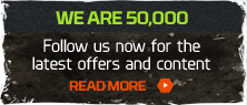 We are now a massive 50,000 on Twitter. Get involved!