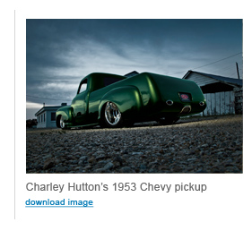 PPG-Charley Hutton's 1953 Chevy pickup